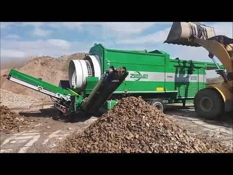 ZEMMLER® MULTI SCREEN® MS 5200 - Gestein Erde Mix / stone soil mixture