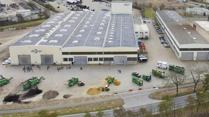 Zemmler Siebanlagen GmbH Standort in Massen
