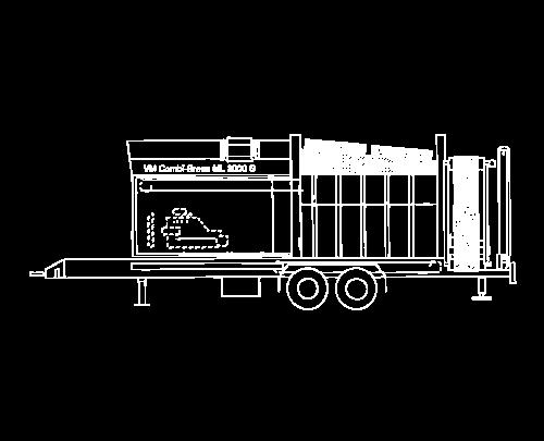 Gebrauchte Doppeltrommel-Siebanlagen