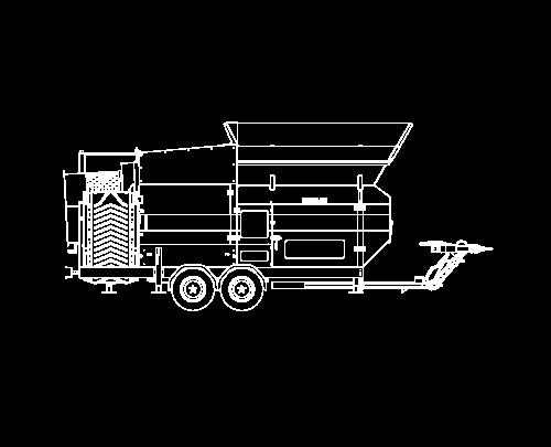 MS1600 mobile Doppeltrommel-Siebanlagen