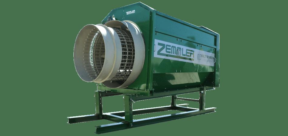 MS5200 – Stationäre Doppeltrommel-Siebanlage – Zemmler Siebanlagen GmbH