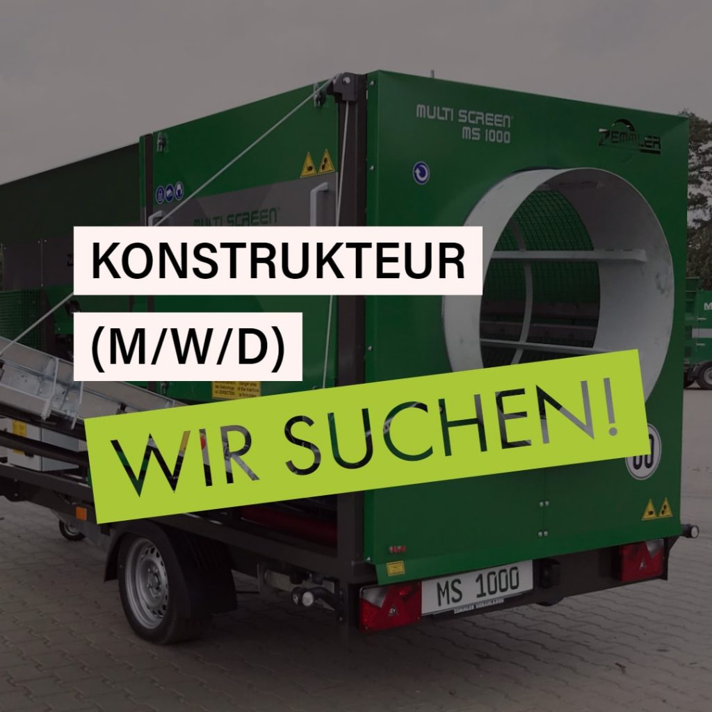 Zemmler Siebanlagen GmbH – Konstrukteur