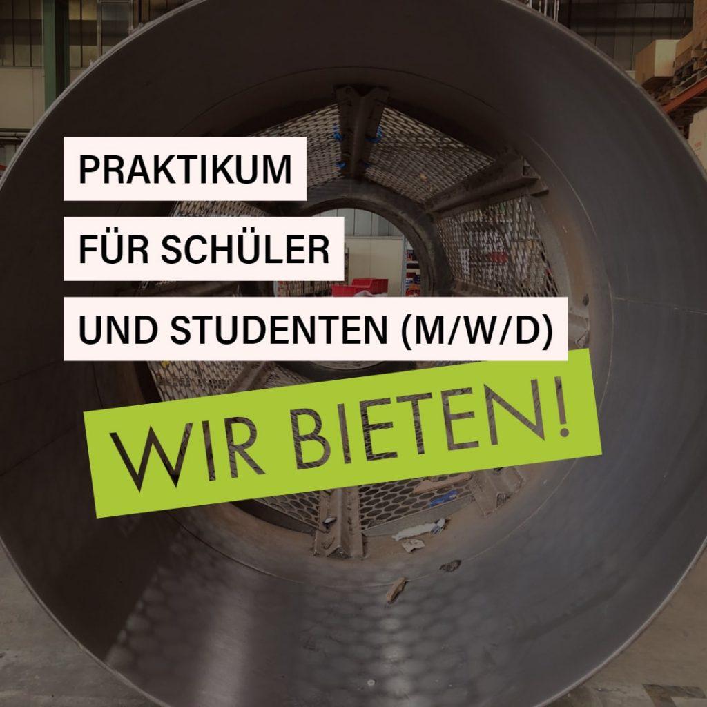 Zemmler Siebanlagen GmbH – Praktikum bei Zemmler