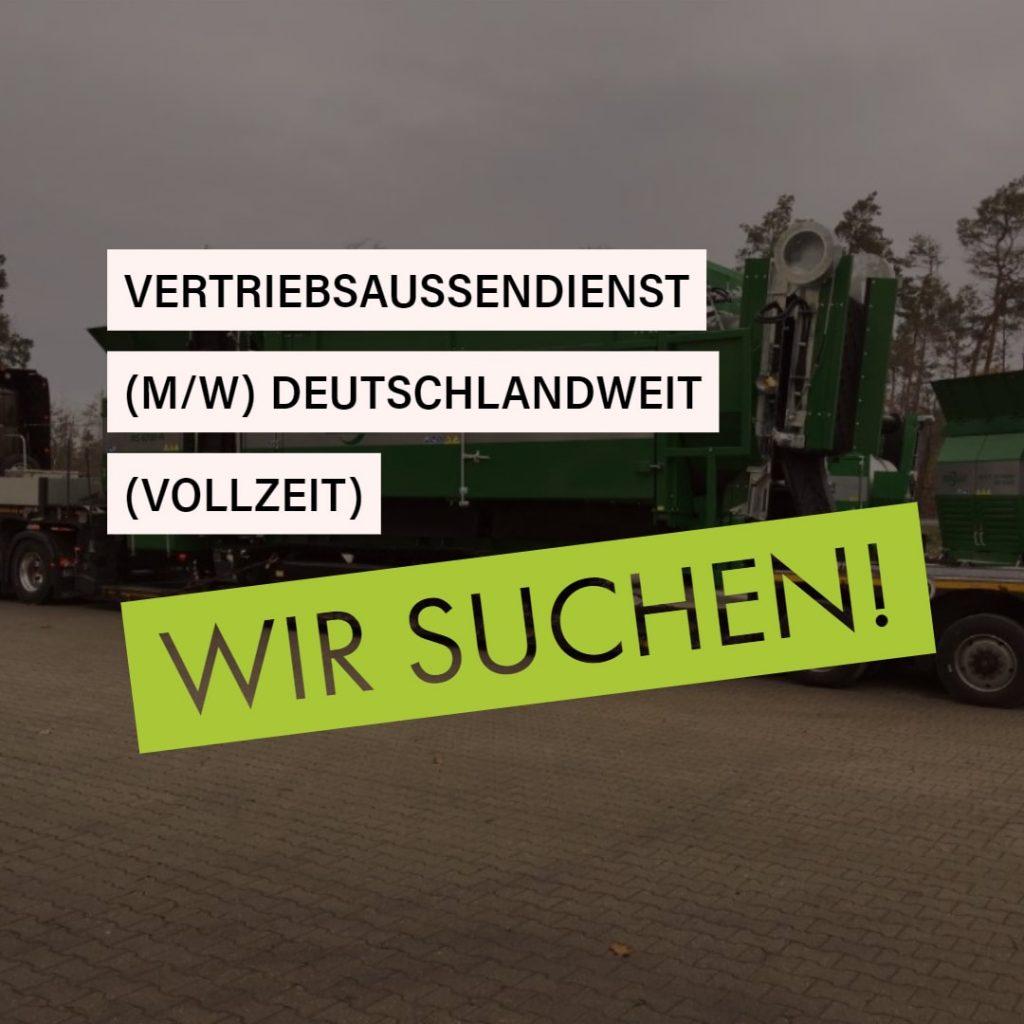 Zemmler Siebanlagen GmbH – Vertriebsaußendienst deutschlandweit