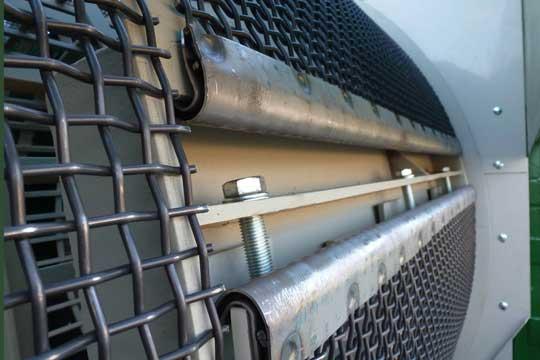 Zemmler Siebanlagen – wire screens for trommel screening machine