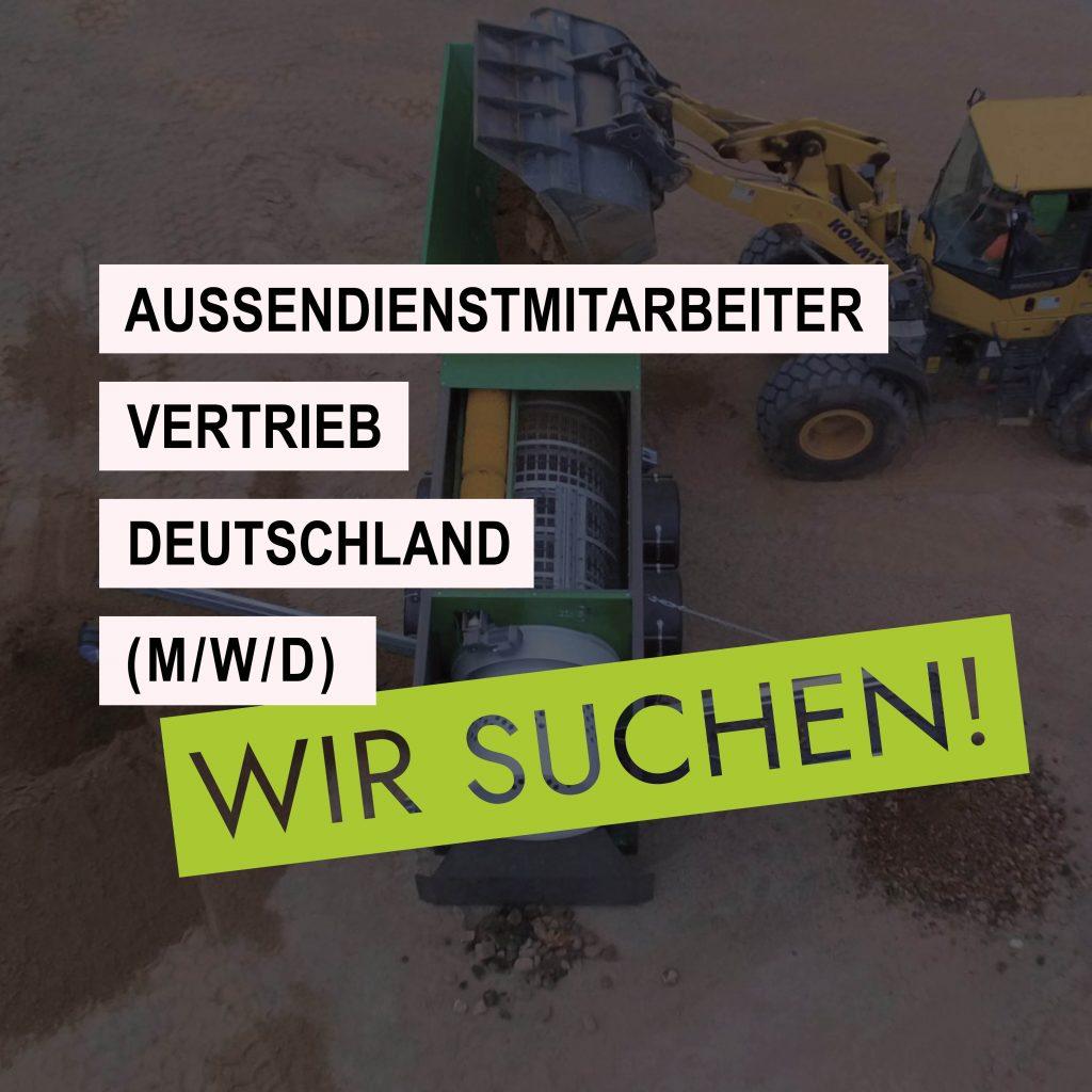 Wir suchen Außendienstmitarbeiter Vertrieb Deutschland