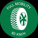 Full Mobility 80 Km/h